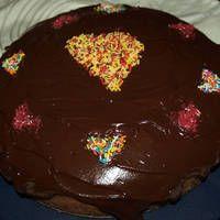 Καρυδόπιτα νηστίσιμη με γλάσο σοκολάτας