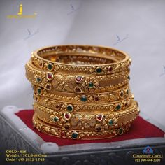 Get In Touch With us on Plain Gold Bangles, Gold Bangles Design, Gold Earrings Designs, Gold Jewellery Design, Gold Jewelry, Gold Designs, Bridal Jewellery, Bracelet Designs, Women Jewelry