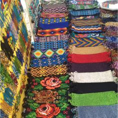 Typical beaded wears you'll see at the local markets.