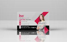 Plastic Business Cards, Business Cards Online, Can Design, Design Your Own, Keller Williams Business Cards, Laser Cut Box, Street Names, Business Card Design, Trust