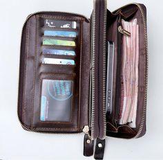 Мужской кожаный клатч MS Collection Ms013B