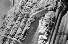 Portico da Gloria (Santiago de Compostela), Santy López