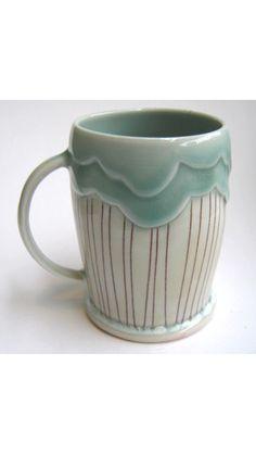 Rain cloud mug