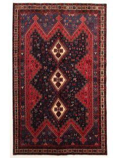 Tapis persans - Afshar  Dimensions:255x161cm