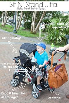 Best Sit and Stand Stroller Reviews (2013 update) | Munchkins ...