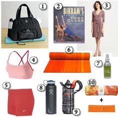 """10 Essentials for Bikram """"hot"""" Yoga on http://blog.gifts.com/gift-trends/bikram-yoga"""