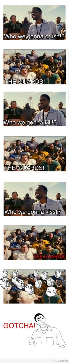 The longest yard - FunSubstance Cheer Quotes, Tv Quotes, Movie Quotes, The Longest Yard, Bad Boyfriend, Chris Rock, Picture Blog, Funny As Hell, Love Movie