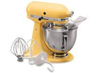 Click Image Above To Purchase: Kitchenaid 5-qt. Artisan Stand Mixer, Majestic Yellow