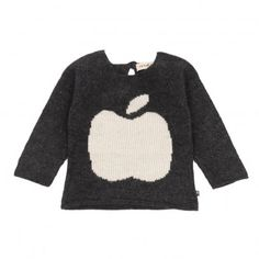 Smallable Online - Oeuf NYC Apple Pullover -  $82.25. Almost mac like #graphicdesignerskid