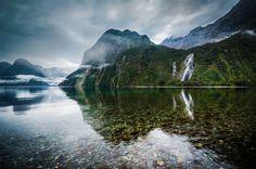 Bowen Falls, New Zealand