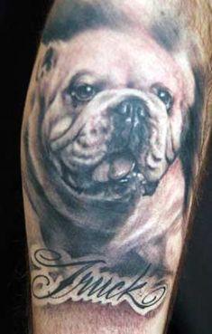 Engelse buldogtatoegering bulldog Source by engbulldog Dog Tattoos, Finger Tattoos, Animal Tattoos, Girl Tattoos, Sleeve Tattoos, Trendy Tattoos, Unique Tattoos, Bulldogge Tattoo, Dog Portrait Tattoo