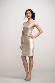 Watters Hyacinth Top And Mum Skirt Bridesmaid Dress | Weddington Way
