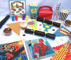 pack o cesta rgalo para un cumpleaos marvel de superheroes en