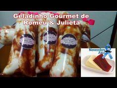 10 RECEITAS DE GELADINHO | DINDIN GOURMET CREMOSO | SACOLÉ | - YouTube