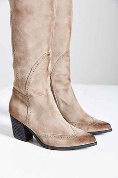 Jeffrey Campbell Torrent Distressed Suede Tall Boot - Urban Outfitters