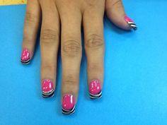 Design Color Acrylic Nails Fancy Nails, Pretty Nails, Colored Acrylic Nails, Nail Time, Design Color, Mani Pedi, Nail Ideas, Beautiful Things, Nail Designs