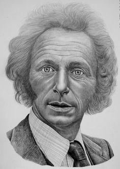 Galerie :: KRESBA TUŽKOU-PORTRÉT Pencil Art, Pencil Drawings, Funny Cartoons, Art Forms, Digital Art, Klimt, Caricatures, Portraits, Painting