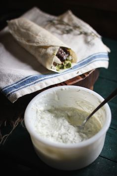 Lamb Burritos with Lemon Oregano Rice & Homemade Tzitziki — Adventures in Cooking