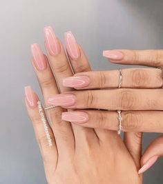 Best Picture For acrylic nails winter For Your Taste You are looking for some. Best Picture For acrylic nails winter For Your Taste You are looking for something, and it is go Long Nail Designs, Acrylic Nail Designs, Hair And Nails, My Nails, Long Gel Nails, Nails Kylie Jenner, Fall Acrylic Nails, Simple Acrylic Nails, Nail Swag
