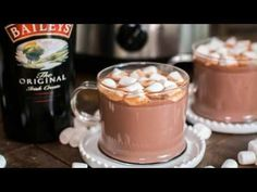 Slow Cooker Baileys Irish Cream Hot Chocolate - The Magical Slow Cooker