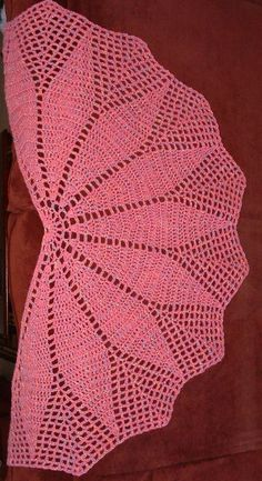To the Point Shawl by Cheri McEwen - free crochet pattern