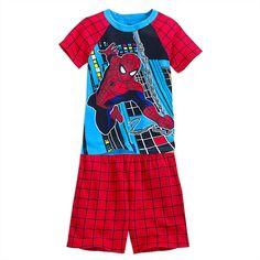Spider-Man PJ PALS Short Set for Boys   Spider-Man   Disney Store