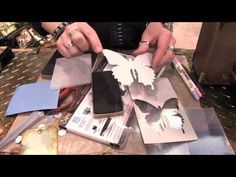 ▶ Tim Holtz - Large Die and Texture Fade Kits - CHA Winter 2014 - YouTube
