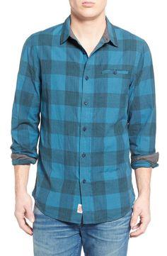 'Thayer' Trim Fit Check Woven Shirt