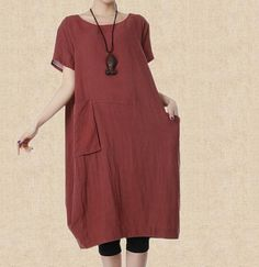 linen Maxi Dress women fashion Long dress by MaLieb on Etsy, $83.00