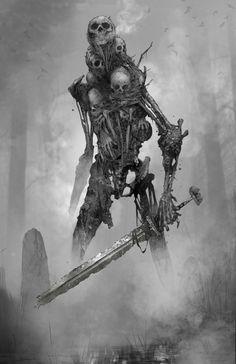 Monster Art, Monster Concept Art, Fantasy Monster, Monster Design, Creature Concept Art, Creature Design, Dark Fantasy Art, Fantasy Artwork, Fantasy Character Design