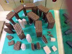 stonehenge models - Google Search Model School, Making A Model, Iron Age, Stonehenge, Child Models, Yule, School Projects, Miniatures, Homework