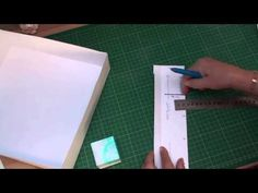 Advent Calendar (card-making-magic.com).  This is a new take on an Advent Calendar.  This calendar has a box for each day inside the big box.  Christina Griffith uses a lot of Spellbinder products in her videos.