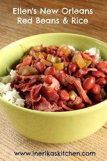 In Erika's Kitchen: New Orleans red beans and rice