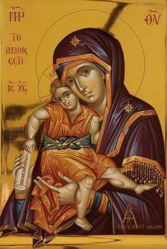 Theotokos - DivinArt Art