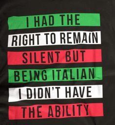 Half Italian, my mother is British, my Father was Sicilian! Italian Women Quotes, Italian Memes, Italian Sayings, Italian Life, Italian Girls, Everyday Italian, Italian Girl Problems, Italian Posters, Funny Girl Quotes