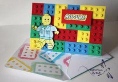 Biglietto di Auguri Lego con Busta coordinata di SoffiDiCartaBySab, €5.00