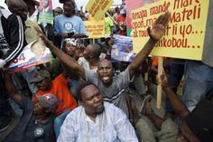 Armario de Noticias: Violentas protestas en Haití luego de anuncio de r...