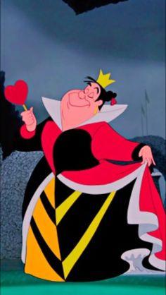 *QUEEN of HEARTS ~ Alice in Wonderland, 1951