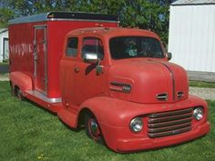 Check Out This 1948 Ford COE Ramp Truck We Found On ...