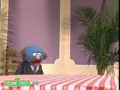 Sesame Street: Grover And Finally A New Waiter!