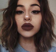 Huge lips make-up - Miladies.internetHuge lips make-up - Miladies. Full Face Makeup, Love Makeup, Skin Makeup, Makeup Inspo, Makeup Inspiration, Beauty Makeup, Hair Beauty, Makeup Ideas, Makeup Brushes
