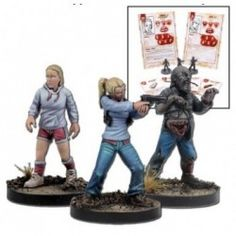 THE WALKING DEAD: ALL OUT WAR ANDREA BOOSTER (INGLES) … Precio de Ocasión, Juego de miniaturas en INGLÉS. Tough and skilled with firearms, Andrea will do anything she can to protect her younger sister, Amy. They are both part of the Atlanta Camp group.  Contents:  Andrea, Amy, Walker, Character cards and Equipment cards.  Miniatures supplied assembled and unpainted. Fabricante: MANTIC GAMES