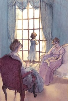 Visitor's Choice Award | The Book Illustration Competition 2017- Mansfield Park - Folio Society