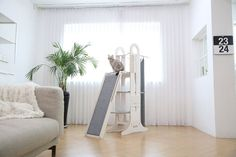 Modern Cat Trees - Minimalist Cat Furniture - Stylish Pet Furniture - The Ultimate Guide To Cat Trees - Cool Cat Tree Plans Modern Cat Furniture, Pet Furniture, Adams Furniture, Cool Cat Trees, Cool Cats, Cat Tree Plans, Cat Towers, Fancy Cats, Jungle Gym