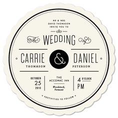 LOVE this wedding invite. I'd totally design one like this for mine.