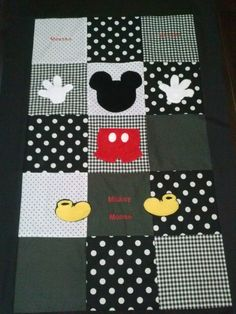 mickeys clubhouse toddler quilt by BetsysBabyBoutique19 on Etsy, $125.00