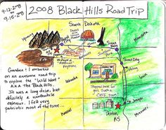 travel journal map
