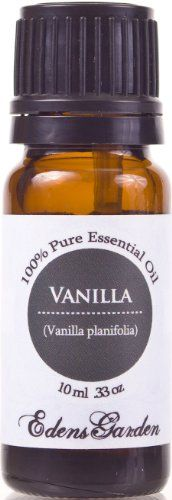 Vanilla 100% Pure Therapeutic Grade Essential Oil- Another fave when mixed with Sandalwood its light and sultry and subtlely sweet
