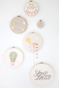 Less-Than-Perfect Life of Bliss: Silhouette Embroidery Hoop Art Tutorial