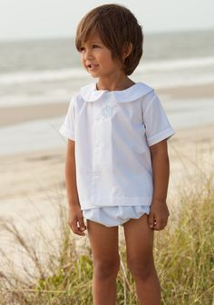 b35231dc seersucker jack set easter bloomers shorts boys collared shirt preppy  Seersucker, Collar Shirts, Shrimp